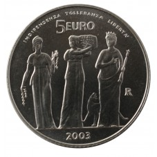 2003 SAN MARINO 5 EURO...