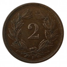 1919 SVIZZERA 2 RAPPEN - B...