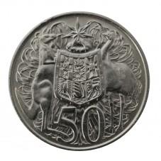 1966 AUSTRALIA 50 CENTESIMI...
