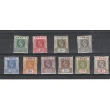 GAMBIA 1912-22 EFFIGIE...