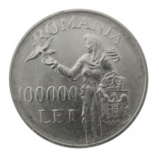 1946 ROMANIA 100000 LEI...