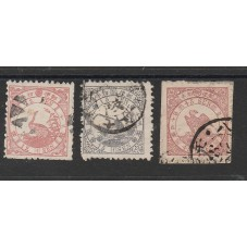 1875  GIAPPONE JAPAN  FAUNA...
