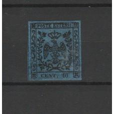 1852 DUCATO DI MODENA - 40...