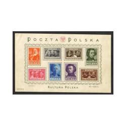 1947 POLONIA POLSKA BLOCCO...