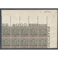 1925 OLTRE GIUBA LIRE 10...