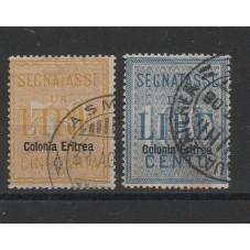 1903 ERITREA SEGNATASSE 50...
