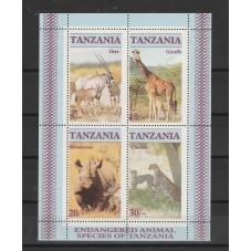 TANZANIA 1986 FAUNA ANIMALI...