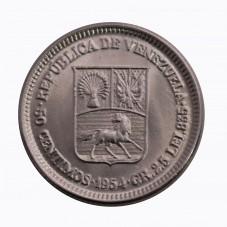 1954 VENEZUELA 50 CENTIMOS...