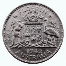 1942 AUSTRALIA GIORGIO VI 1...