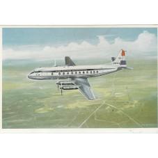 CARTOLINA  LINEA AEREA  KLM...
