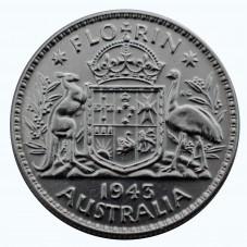 1943 AUSTRALIA GIORGIO VI 1...