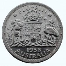 1958 AUSTRALIA ELISABETTA...