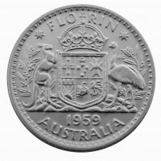 1959 AUSTRALIA ELISABETTA...