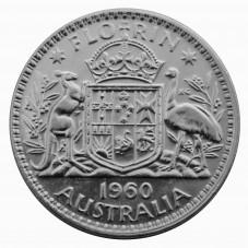 1960 AUSTRALIA ELISABETTA...