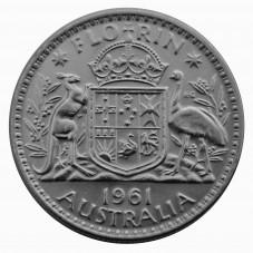 1961 AUSTRALIA ELISABETTA...