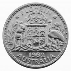 1962 AUSTRALIA ELISABETTA...