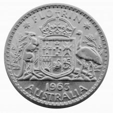 1963 AUSTRALIA ELISABETTA...
