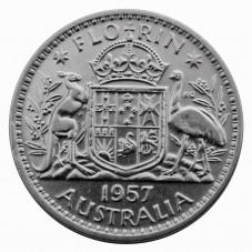 1957 AUSTRALIA ELISABETTA...