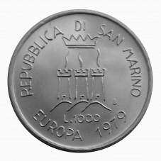 1979 SAN MARINO LIRE 1000...