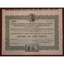 1933 CERTIFICATO AZIONARIO...