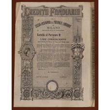 1905 CARTELLA AL PORTATORE...