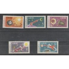 1963 ALBANIA  SPAZIO VOLI...