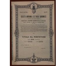 1905 TITOLO AL PORTATORE -...