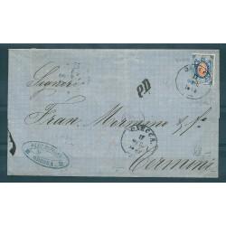 1873 RUSSIA LETTERA 20 K...