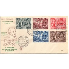 1951 FDC VENETIA VATICANO...