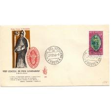 1953 FDC VENETIA VATICANO...
