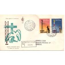 1959 FDC VENETIA VATICANO...