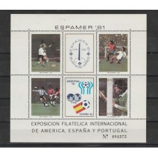 1981 ARGENTINA CALCIO...