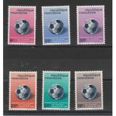 RUANDA - RWANDAISE  1966...