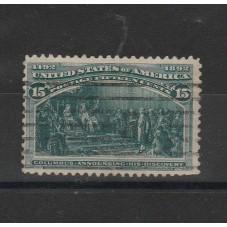1893 STATI UNITI USA  15...