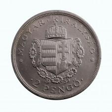 1935 UNGHERIA 2 PENGO 200...