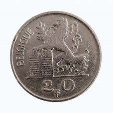 1950 BELGIO 20 FRANCS RE...