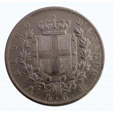 1874 REGNO ITALIA SCUDO...