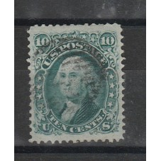 1867 STATI UNITI USA 10...