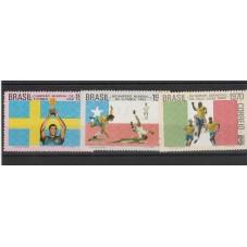 1970 BRASILE  TERZA...