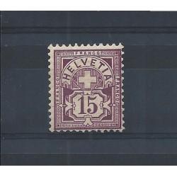 1882-99 SVIZZERA CIFRA E...