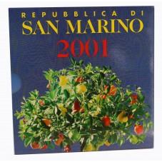 2001 SAN MARINO SERIE...