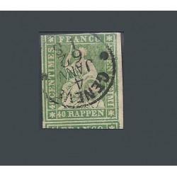 1854-62 SVIZZERA ALLEGORIA...