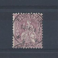 1867-78 SVIZZERA HELVETIA...