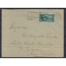 1948 BUSTA AFFRANCATA CON...