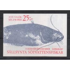 1991 SVEZIA SERIE FAUNA -...