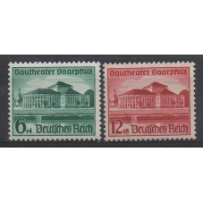 1938 GERMANIA REICH TEATRO...