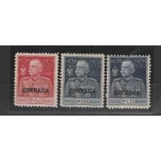 1925-26 CIRENAICA SERIE...