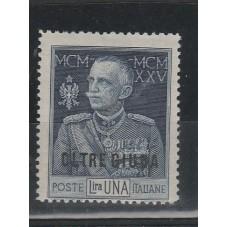 1925 OLTRE GIUBA GIUBILEO...