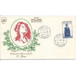 1958 FDC ITALIA ELEONORA...