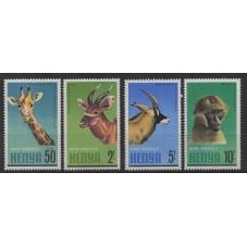 KENIA 1981 FAUNA ANIMALI...